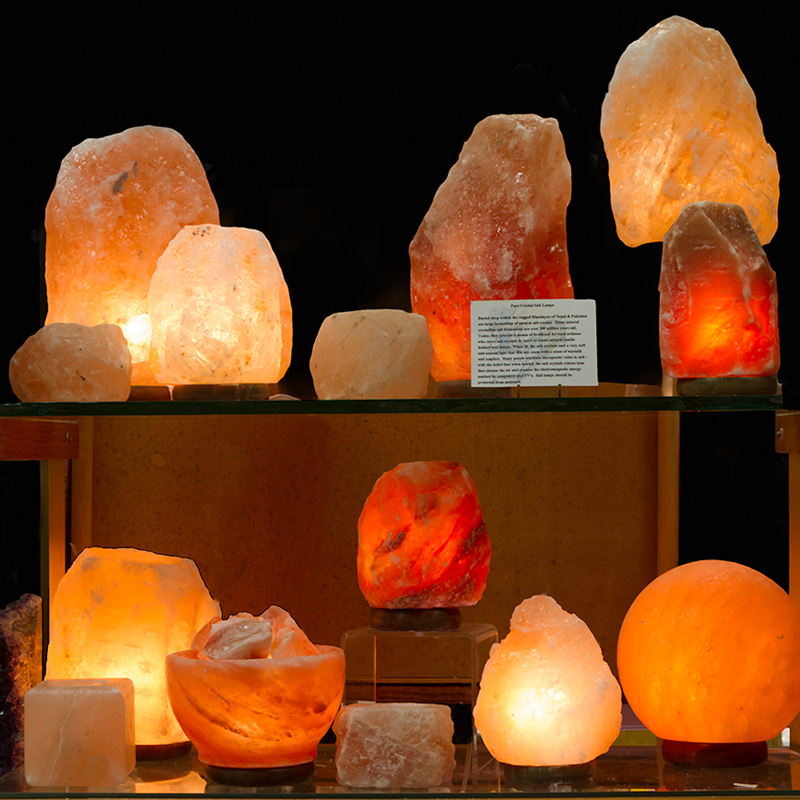 Rock Salt Lamps