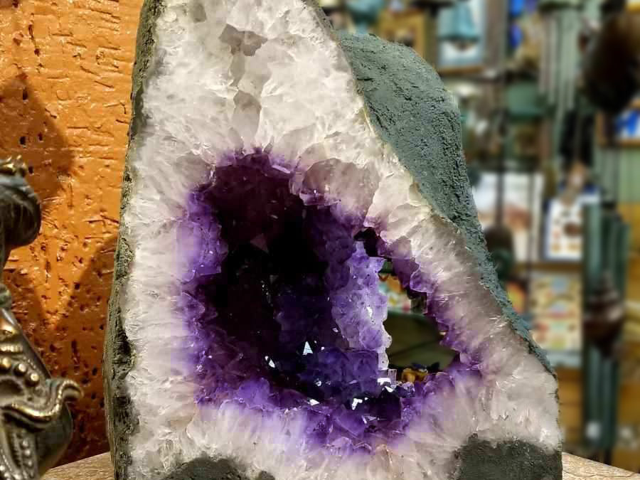Amethyst Cathedral (3 sided)