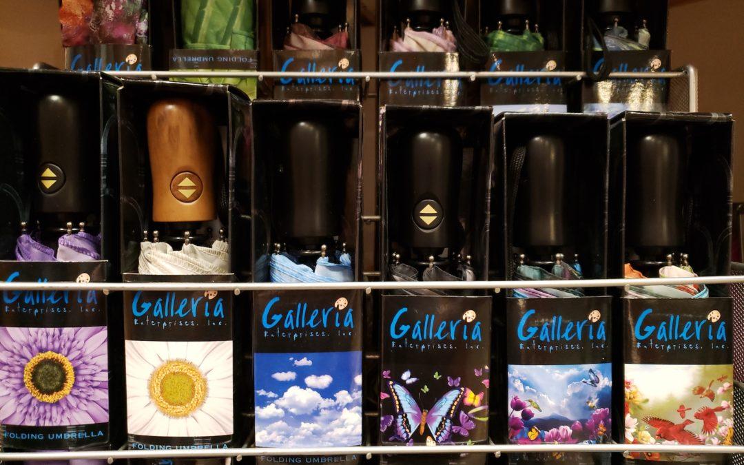 Galleria Umbrellas