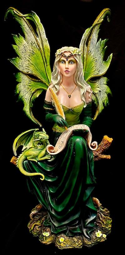 large fairy sculptures